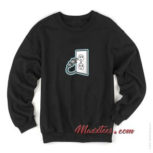 Unplug Icon Sweatshirt