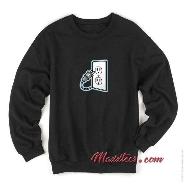 Unplug Icon Sweatshirt