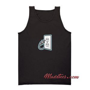 Unplug Icon Tank Top