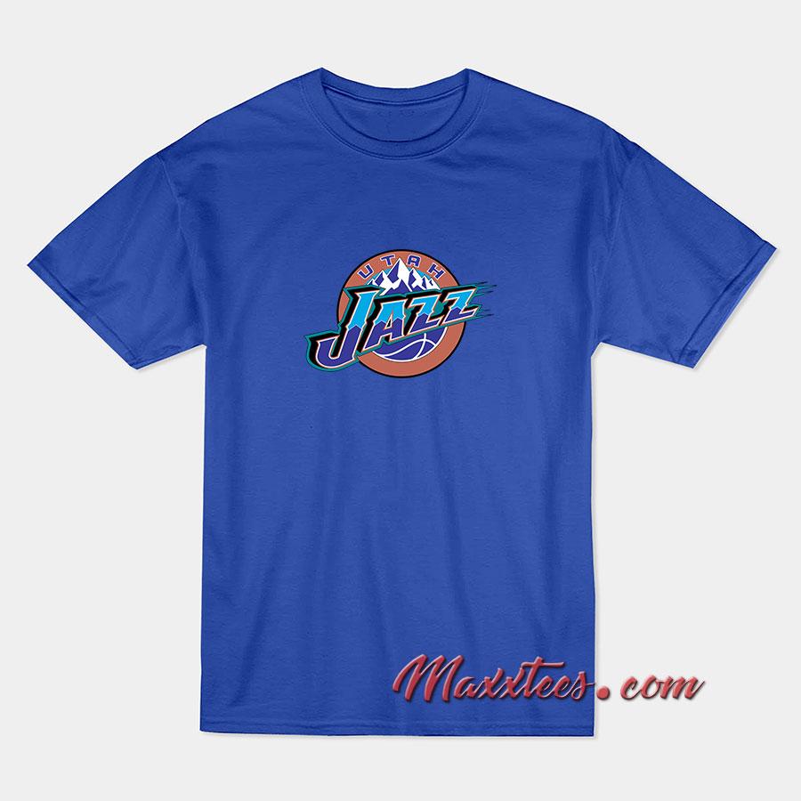 buy popular 88841 e162b Utah Jazz T-Shirt