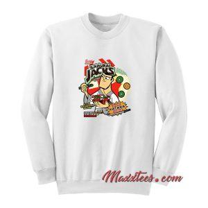 Samurai Cereal - Samurai Jack Cereal Box Sweatshirt