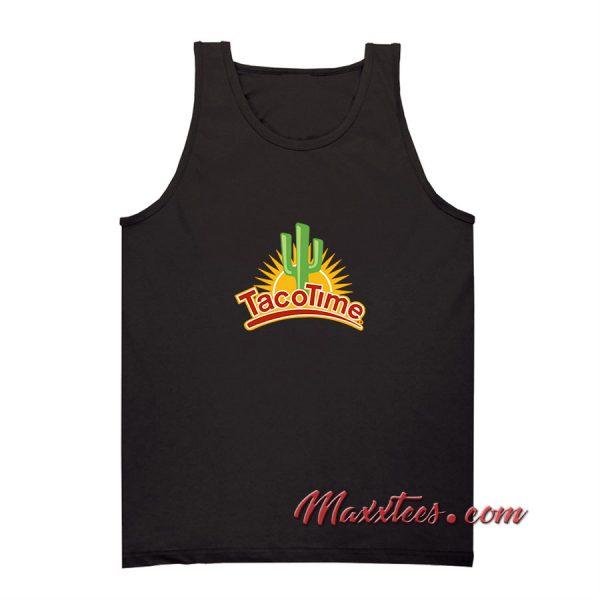 Taco Time Logo Tank Top