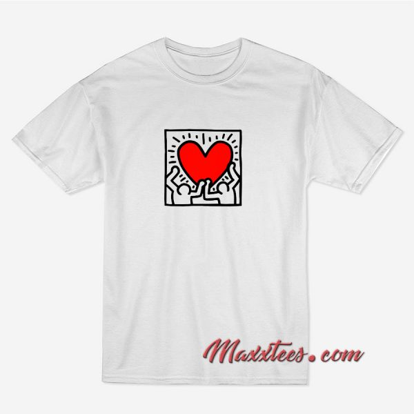 K Heart T-Shirt