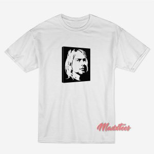 Kurt Cobain Face T-shirt