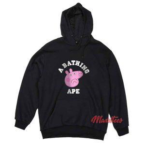 A Bathing Ape X Peppa Pig Hoodie