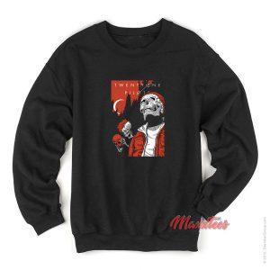 Alien And Skull Twenty One Pilots Sweatshirt