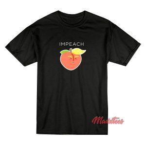 Anti Trump Peach Emoji T-Shirt