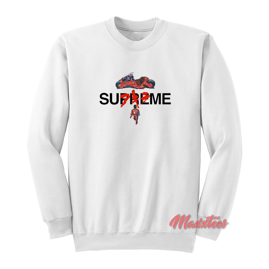f45b9aaa29c Akira x Supreme Collection Sweatshirt - Sell Trendy Graphic T-Shirt