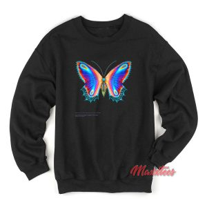 Halsey Multicolor Butterfly Sweatshirt