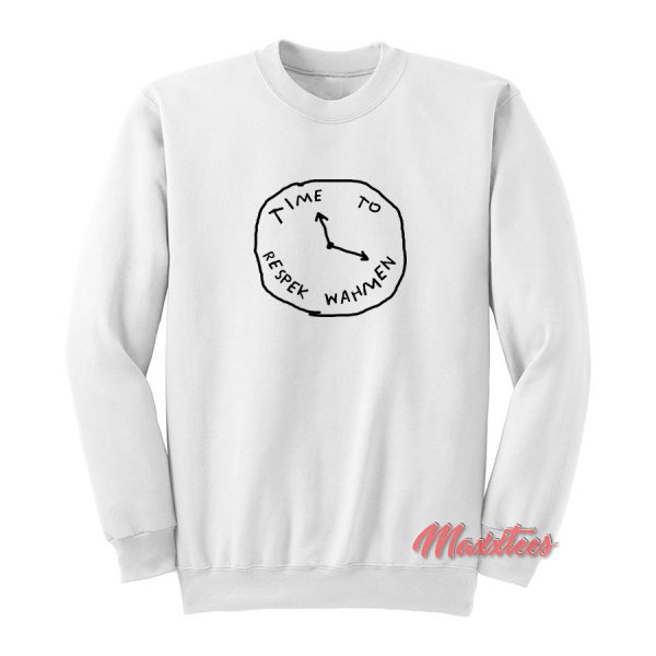 Time To Respek Wahmen PewDiePie Sweatshirt