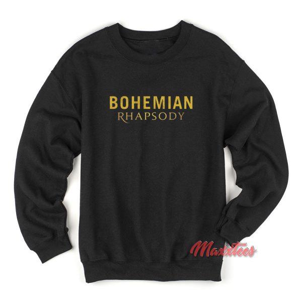 Bohemian Rhapsody Queen Sweatshirt