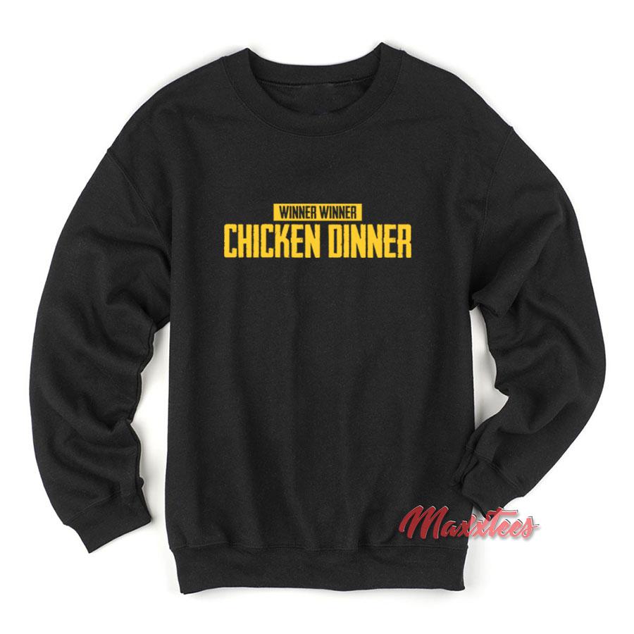 4d6c575a Winner Chicken Dinner PUBG Sweatshirt - Sell Trendy Graphic T-Shirt