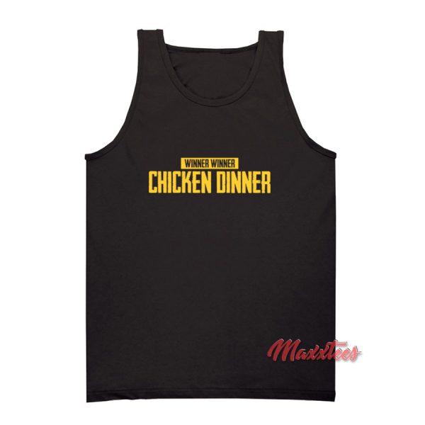 Winner Chicken Dinner PUBG Tank Top
