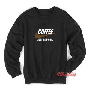 Nike Coffee Just Brew It Sweatshirt