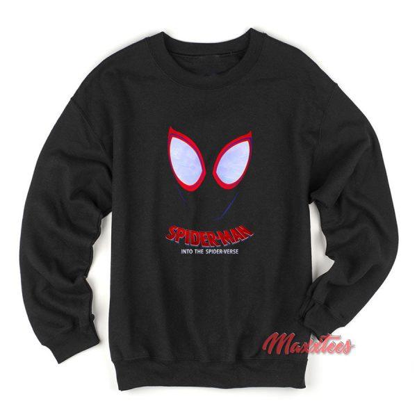 Spiderman Face Spider-Verse Sweatshirt