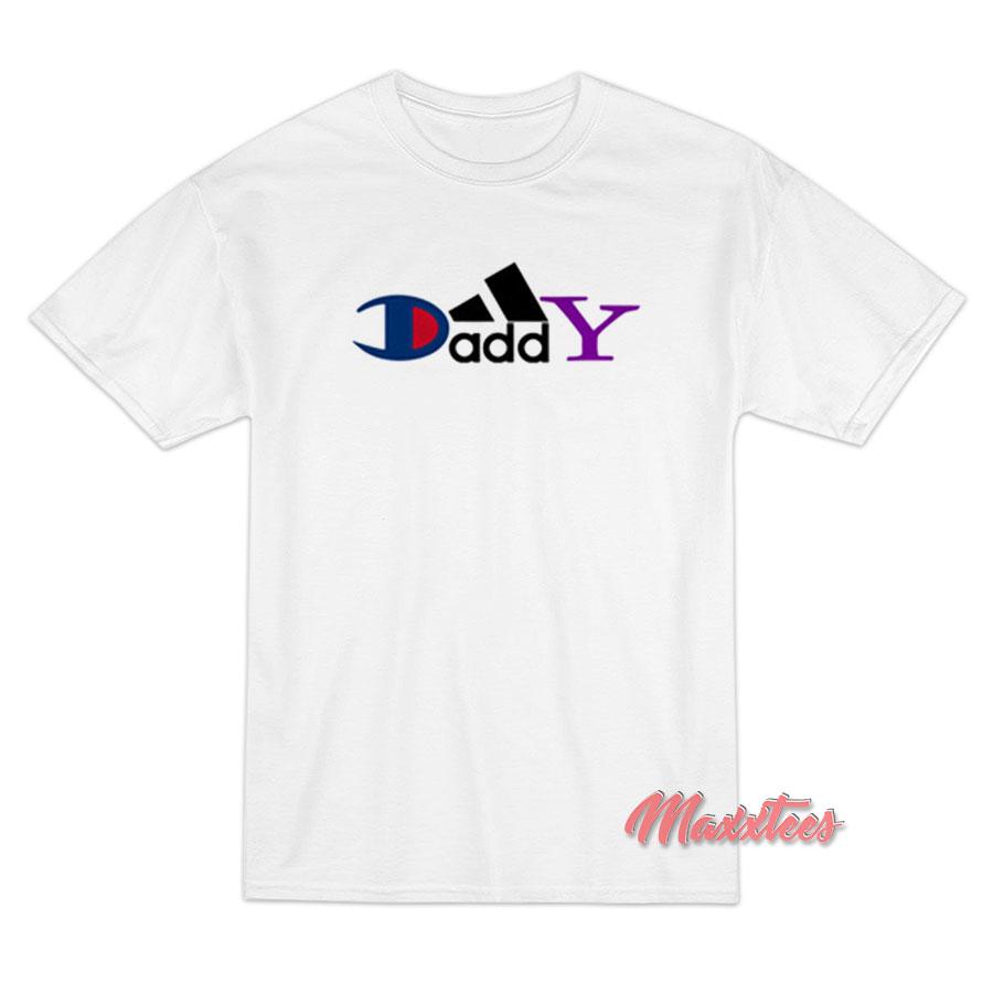 a1d0687a2 Daddy Champion Brand Parody T-Shirt - Maxxtees.com