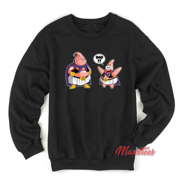 Majin Buu Patrick Star Sweatshirt