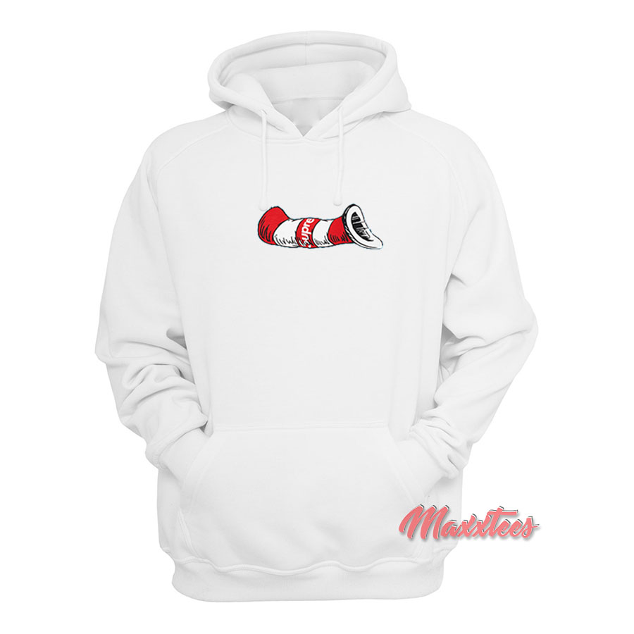 Supreme Cat In The Hat Hoodie - Sell Trendy Graphic T-Shirt