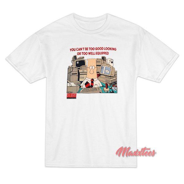 DILBERT Office Comic Strip Cartoon T-Shirt