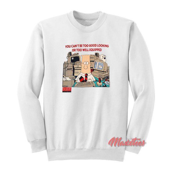DILBERT Office Comic Strip Cartoon Sweatshirt