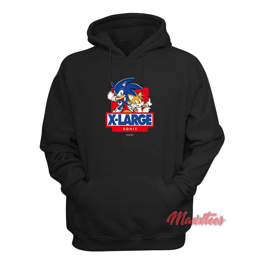 Xlarge X Sonic The Hedgehog Hoodie Maxxtees Com