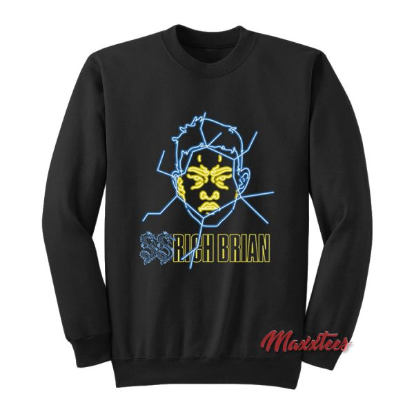 Rich Brian Yellow Glass Sweatshirt