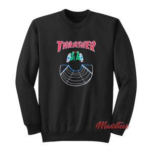 Thrasher Doubles LSD World Peace Sweatshirt