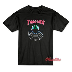Thrasher Doubles LSD World Peace T-Shirt