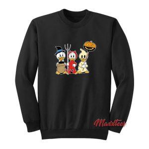 Huey Dewey Louie Halloween Sweatshirt