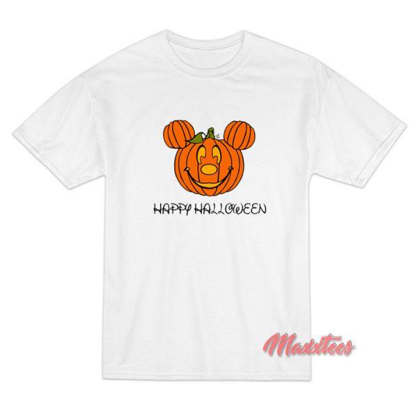 Pumpkin Mickey Mouse Halloween T-Shirt