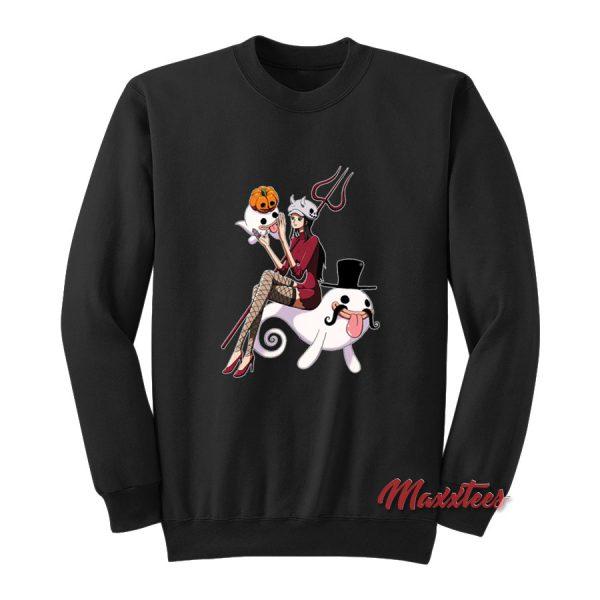 One Piece Nico Robin Halloween Sweatshirt