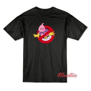 Ghostbusters x Majin Buu Dragon Ball T-Shirt