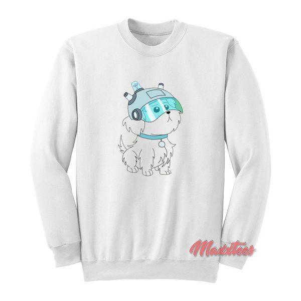 Rick And Morty Lawnmower Dog Sweatshirt