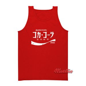 Coca-Cola Japanese Coke Tank Top