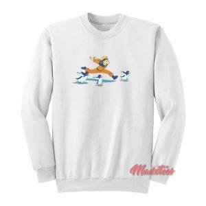 Naruto Running Skill Sweatshirt
