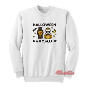 Halloween Baby Milo Bape Sweatshirt