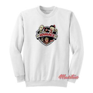 Horror Maniacs Animaniacs Funny Sweatshirt