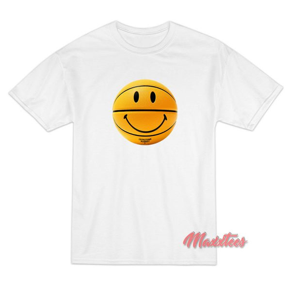 Smiley Basketball Chinatown Market T-Shirt