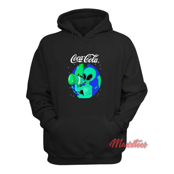 Aliens Drink Coca Cola Hoodie