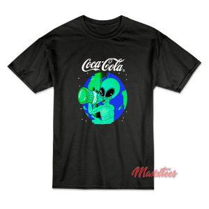 Aliens Drink Coca Cola T-Shirt