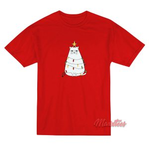 Cats With Christmas Tree Decoration T-Shirt