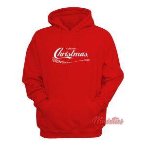 Celebrate Christmas Coca Cola Hoodie