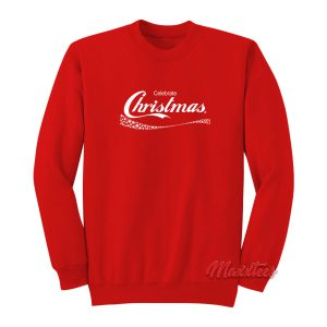 Celebrate Christmas Coca Cola Sweatshirt