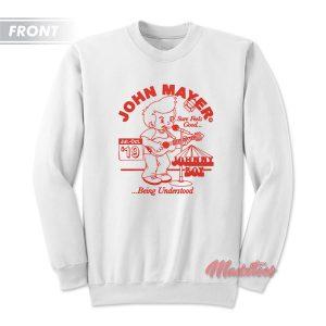 John Mayer Johnny Boy 2019 Tour Sweatshirt