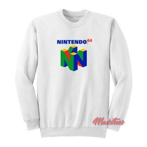 Nintendo 64 Logo Sweatshirt
