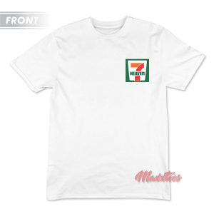 Seventh Heaven 7 Eleven Logo Parody T-Shirt