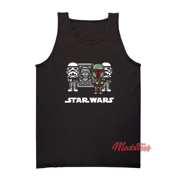 Baby Milo x Star Wars Bape Tank Top