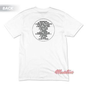 Mac Miller Swimming Cover T-Shirt