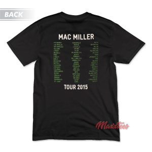 Mac Miller GOOD AM Tour T-Shirt