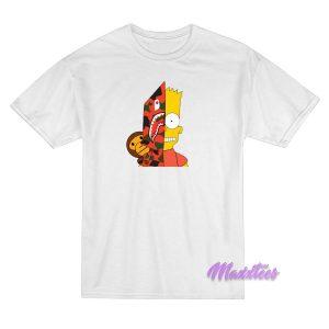 Bart Simpson Shark Bape T-Shirt